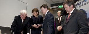 Minister for Enterprise, Trade and Innovation, visits Solvotrin Therapeutics office in Cork