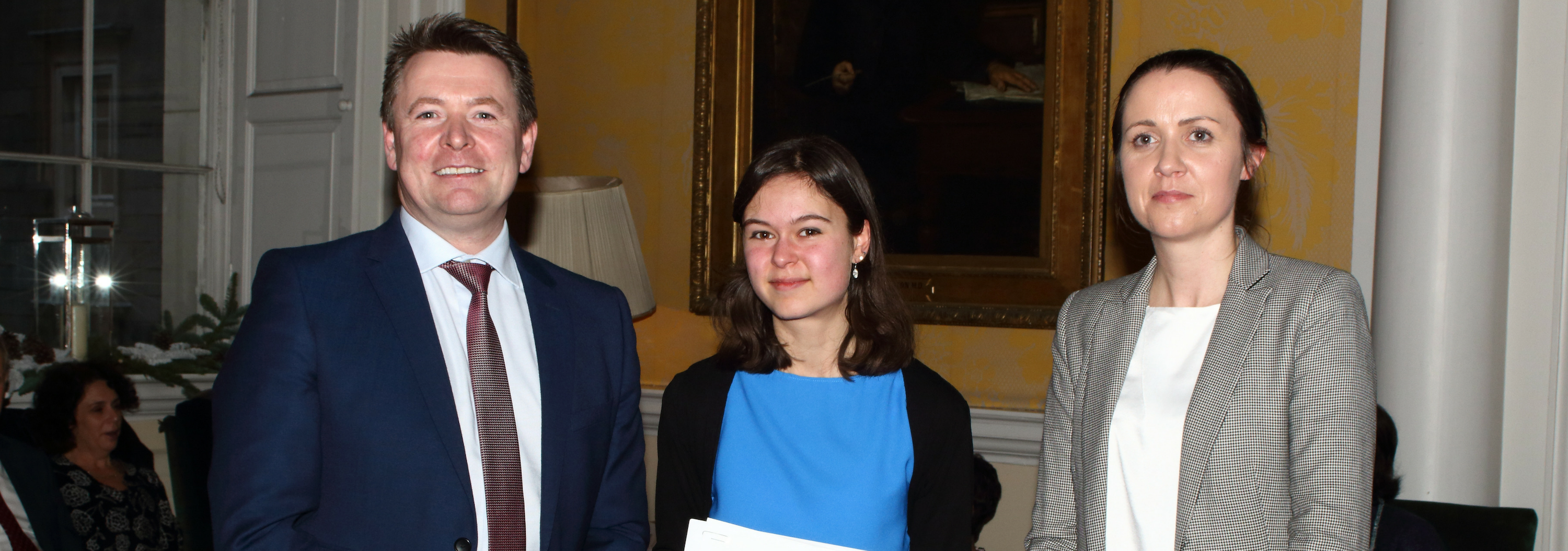 Trinity Pharmacy School Prize Giving and Industry Networking Event December 2018