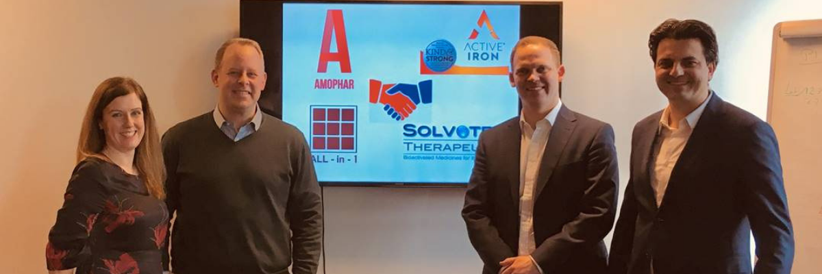 Solvotrin Therapeutics and Amophar to bring Active Iron to 3 new European markets